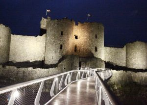 Harlech Castle Visitors Centre in Wales